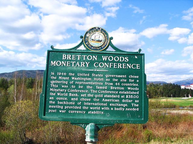Time for a new Bretton Woods? | Centre for International ... |Bretton Woods Logo