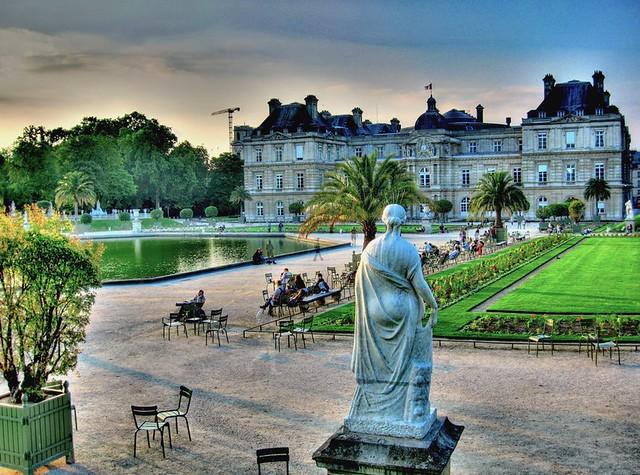 Une soirée dans les Jardins du Luxembourg / An evening in the Luxembourg Garden
