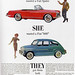 1960s Advertising - Magazine Ad - Fiat Spider & 600 (USA)