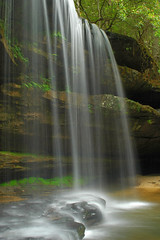 Upper Falls at Caney Creek.