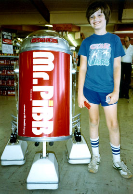 1980 Mr. Pibb Robot and Me