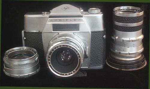 Agfa Ambiflex. German . SLR,1959?.