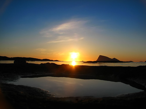 Midnight Sun, Norway - Flickr: arctic pj