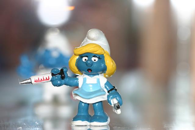 Nurse Smurfette