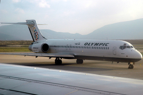 "Olympic Airways 717 SX-BOC ""Iridanos"""