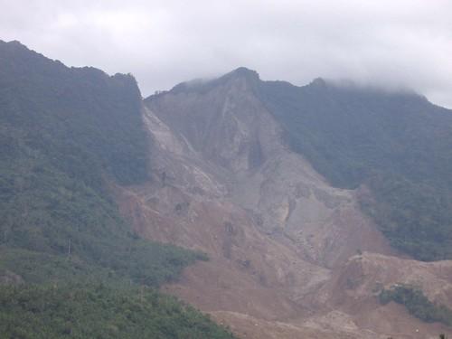 Philippines landslide Feb 2006