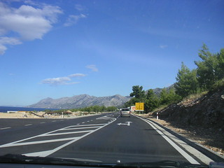 A road along Adriatic