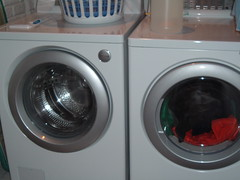 gas stove(0.0), clothes dryer(1.0), major appliance(1.0), washing machine(1.0), laundry(1.0),