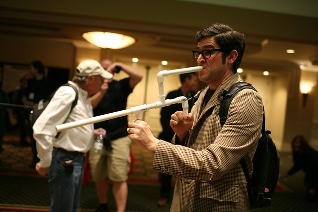 Ted with Marshmallow Gun