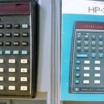 HP-35, manual, in its original case