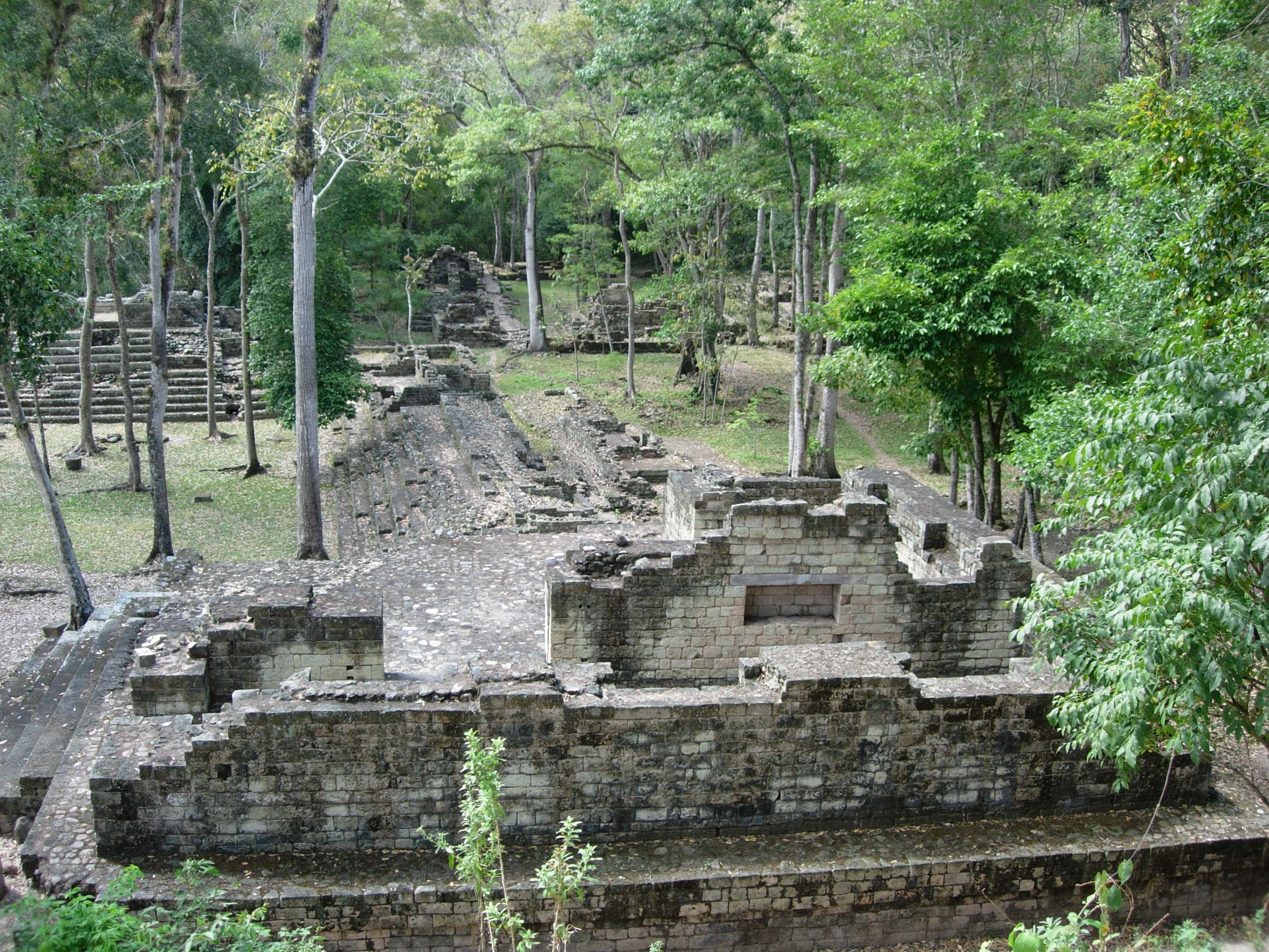Copán is an archaeological site of the Maya civilization