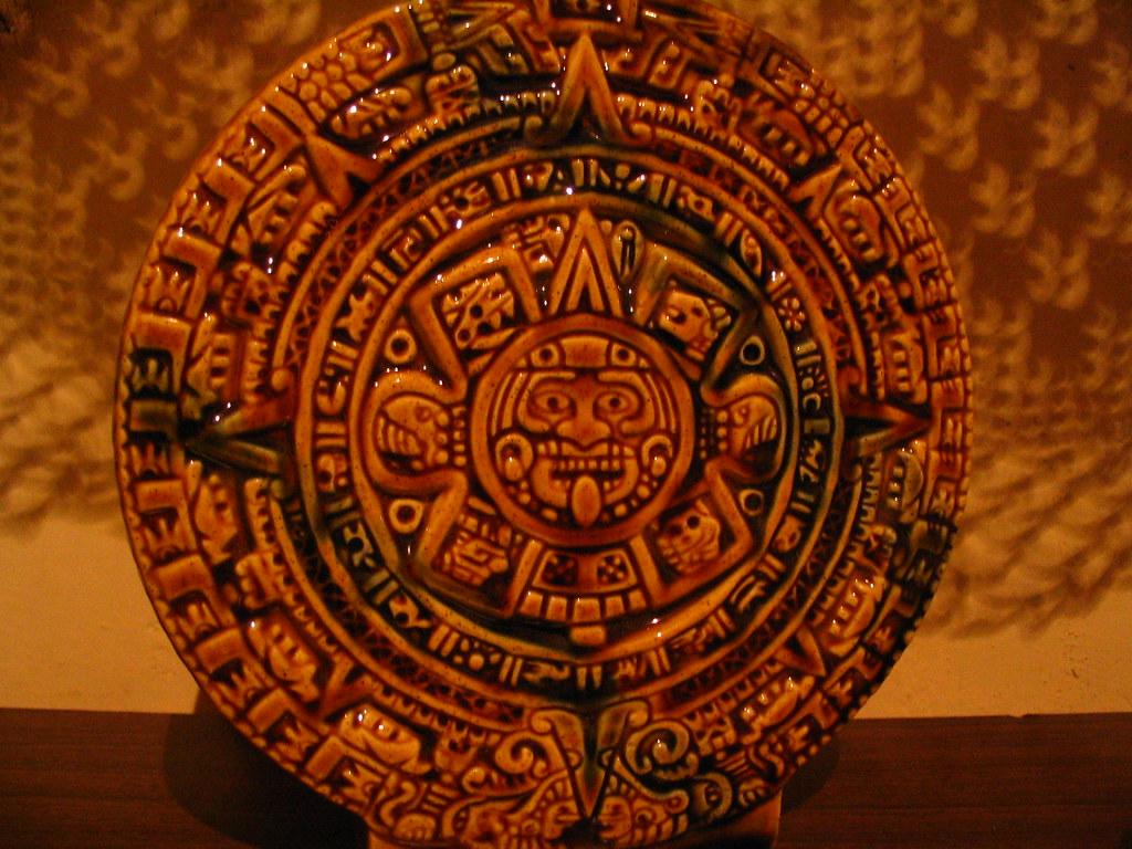Calendario Azteca El Calendario Azteca Es Un Ciclo De 52 A Flickr