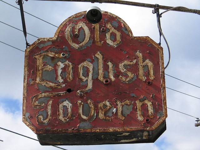 Old English Taverns http://www.flickr.com/photos/ruthdeb/114943616/