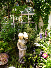 salvage garden ~ recycled window