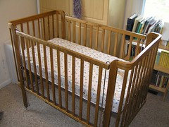 furniture, room, infant bed, bed, hardwood,