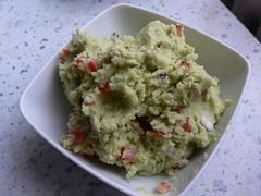 Noch einmal mexikanisch Avocado Sauce - Guacamole