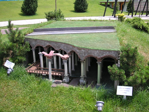 byzantine cistern at miniaturk
