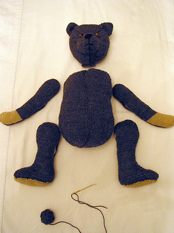 Jack the Teddy Bear, 95% Complete