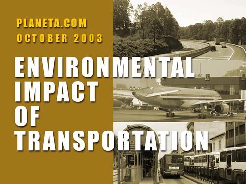 Environmental Impact of Transportation