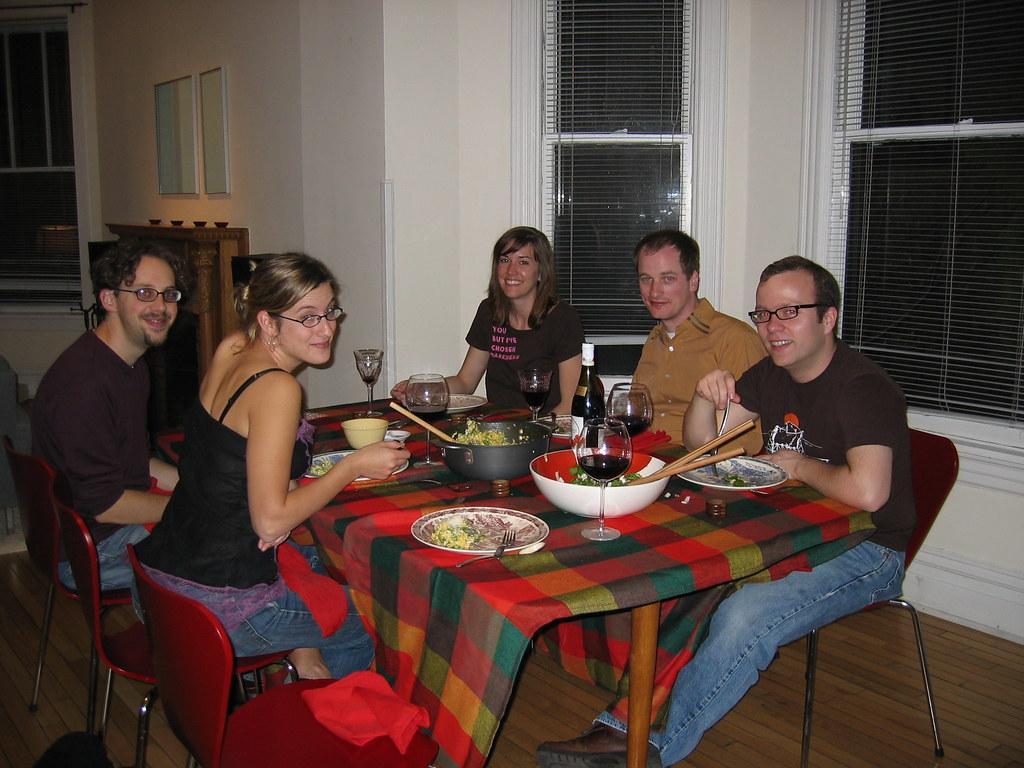 Dinner Party Menu Template