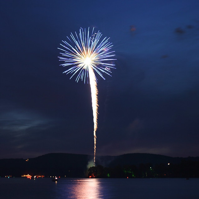 4th of July Fireworks, Lake Waramaug