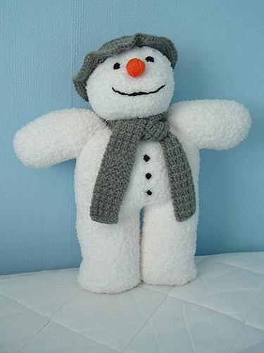 Knitted Snowman Pattern Free : 23483588_b32feb81a0.jpg