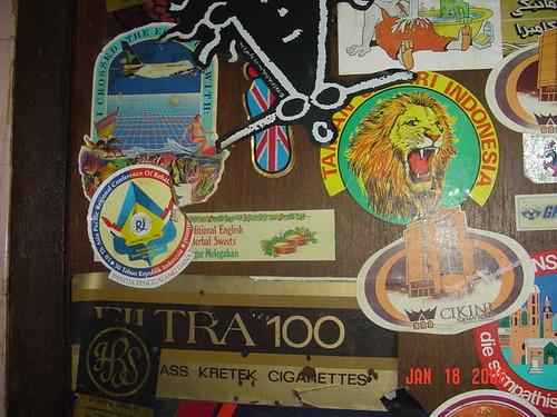 097-Sticker Jadul