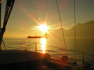 Lake Garda winter sailing