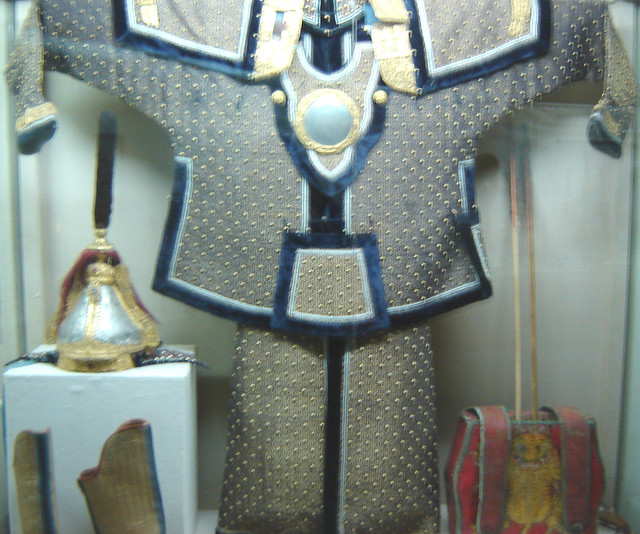 Mongol Armour http://www.flickr.com/photos/onlythepenitentmanmaypass/92155014/