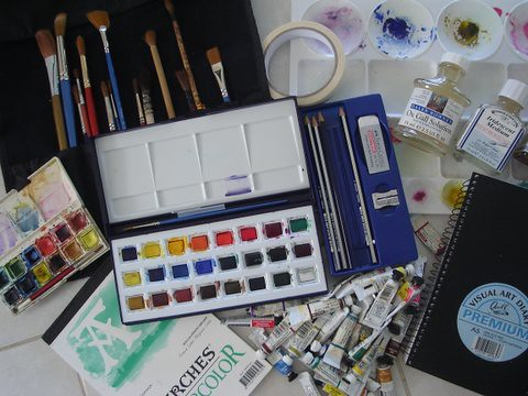 My Watercolour Set