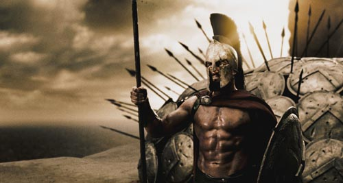 King Leonidas / 300 the movie