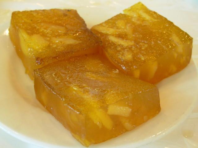 Pan Fried Water Chestnut Cake
