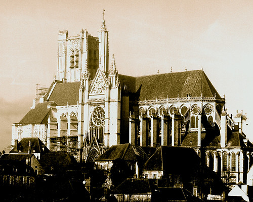 church in auxerre