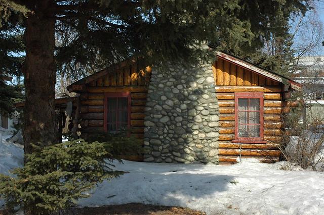 Old Log Cabin On 13th Anchorage Alaska Flickr Photo