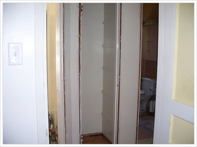 Pantry and Linen Closet
