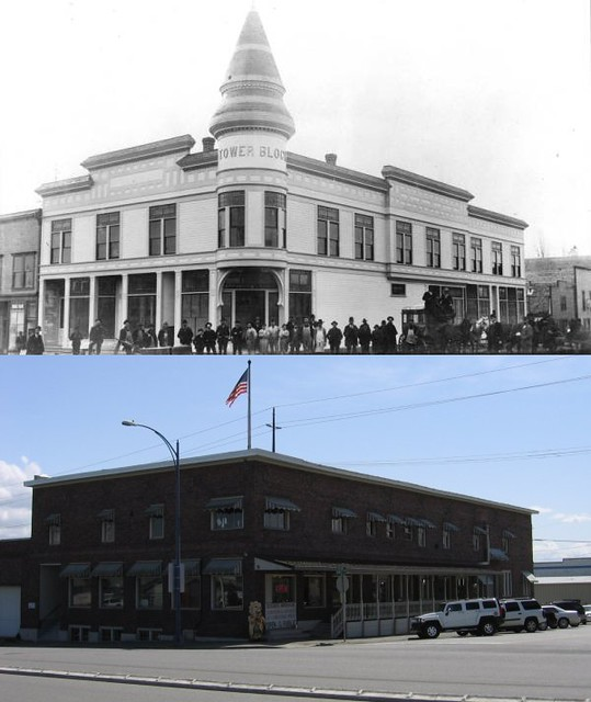 Everett Washington Then And Now Tower Bloc Flickr Photo Sharing