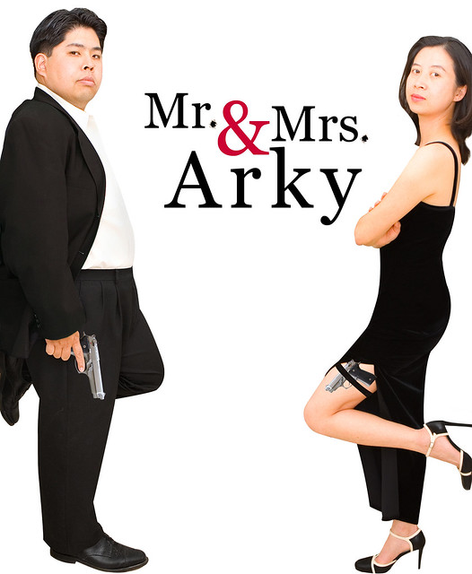 Day 214: Mr. & Mrs. Arky
