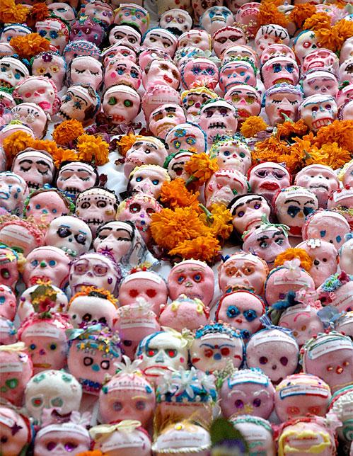 Candied Skulls Dia de Los Muertos