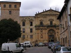 Burgos Oña portada Monasterio de San Salvador 24