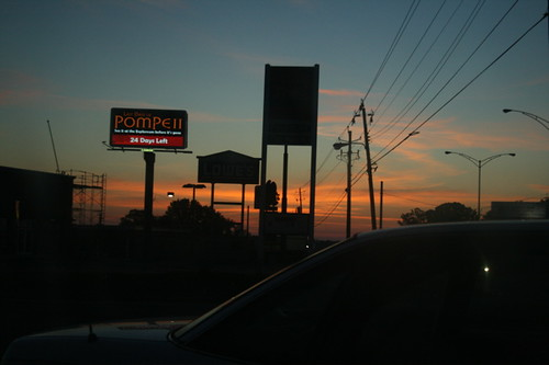 signs sunrise am silhouettes billboards mobileal