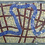 River walk mosaic