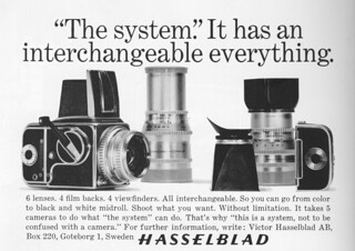advertentie hasselblad 500