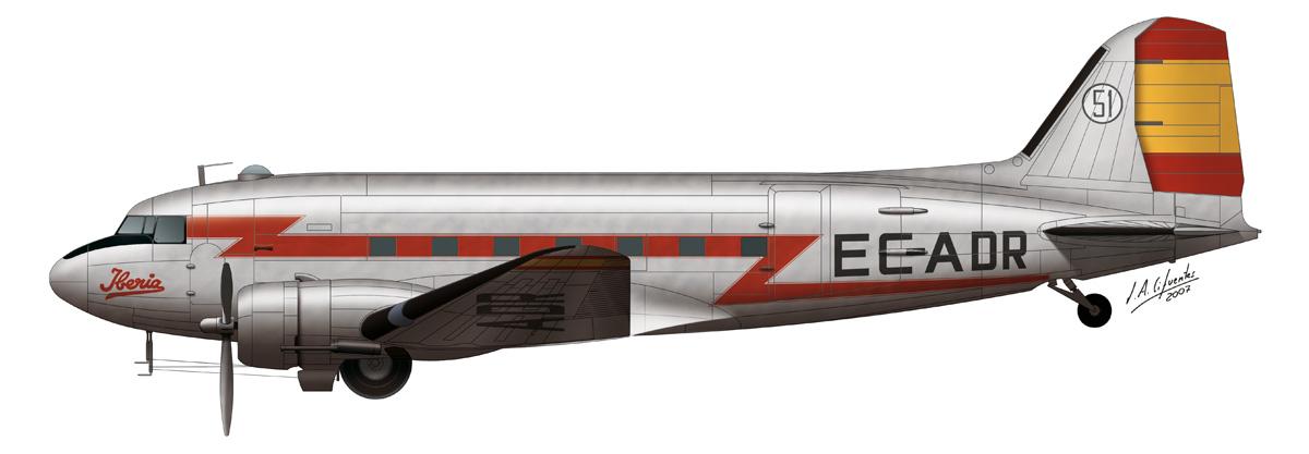 Douglas DC-3 Iberia 2
