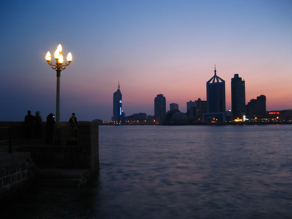 A QingDao sunset