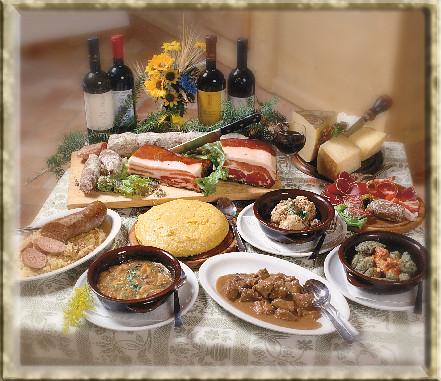 gastronomia trenitno piatti tipici della cucina del