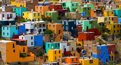 city houses landscape mexico nikon bravo guanajuato d200 lots kleurrijk huizen veel 18200mmvr artlibre