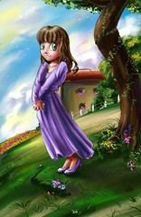 anime, cartoon, illustration,