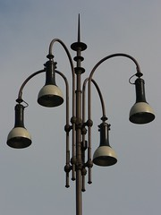 decor(0.0), sconce(0.0), bell(0.0), chandelier(0.0), lighting(0.0), lamp(1.0), light fixture(1.0), light(1.0), street light(1.0),