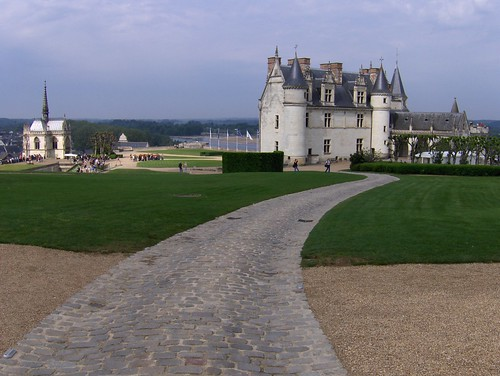 All roads lead to Château d'Amboise. Photo: Joe Shlabotnik