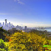 Seattle Sun by justinmaier